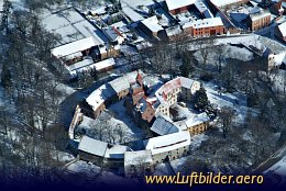 Aerial photo Altenhausen Castle