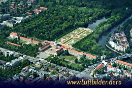 Aerial photo Charlottenburg Castle