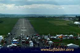 Aerial photo Airport Eisenach Kindel