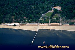 Aerial photo Lido Wannsee