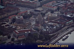 Aerial photo Frauenkirche