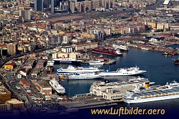 Aerial photo Naples Harbour