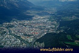 Aerial photo Innsbruck