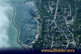 Aerial photo Sassnitz Harbour