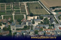 Aerial photo Chateau de Talcy