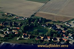 Aerial photo Village near Jüterbog
