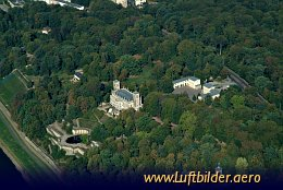 Aerial photo Albrechtsberg Palace