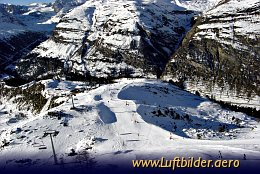 Aerial photo Slopes in Sunegga