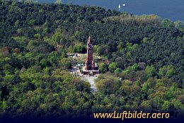 Aerial photo Grunewald Tower