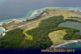 Aerial photo Los Roques Airport