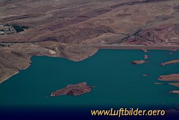 Aerial photo Water Reservoir near Er Rachidia