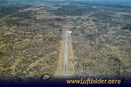 Aerial photo Chobe Airstrip