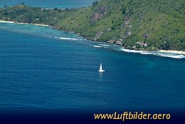 Aerial photo Sainte Anne Island
