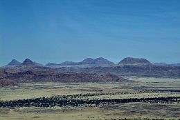 Aerial photo Lanscape near Twyfelfontein