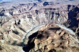 Aerial photo Fishriver Canyon
