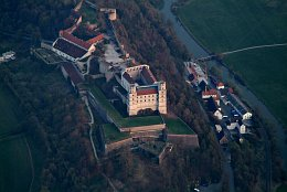Aerial photo Willibaldsburg Castle