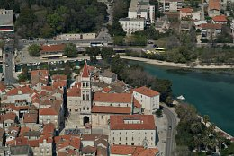 Aerial photo Trogir
